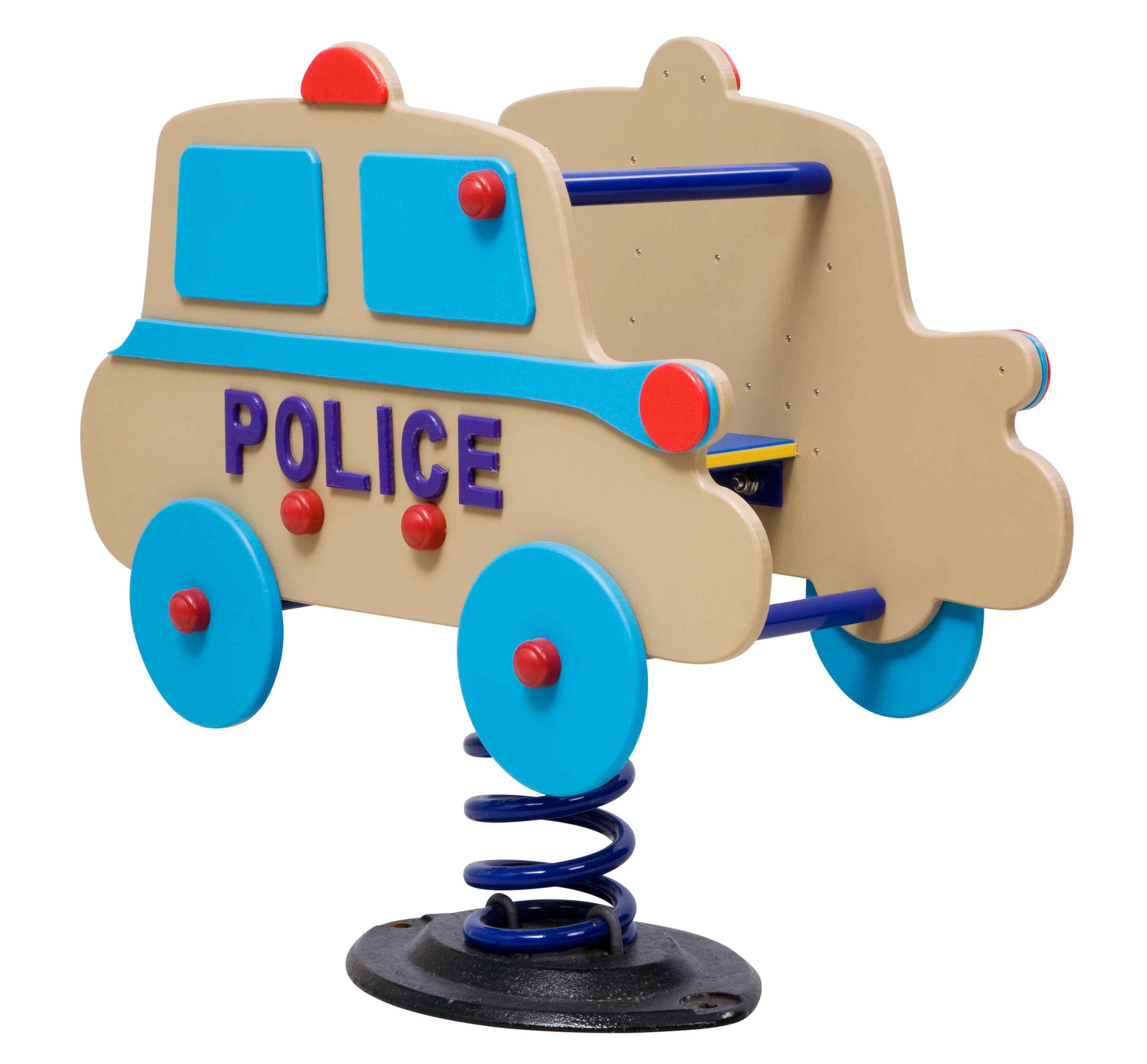 SPRINGERS: WOOD POLICE CAR
